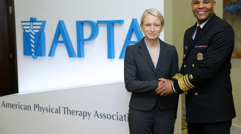 INAPTA President attends APTA Component Leadership Meeting